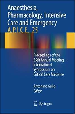 Anaesthesia, Pharmacology, Intensive Care and Emergency A.P.I.C.E