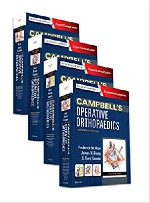 Operative Orthopaedics-Campbell's 4VOL