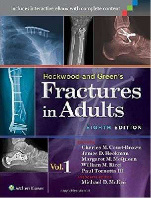 Fractures in Adults and Children - Rockwood, Green, and Wilkins`-4Vol+DVD