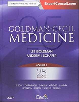 GOLDMAN-CECIL MEDICINE  3Vol