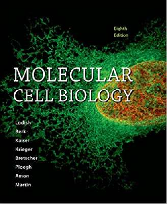 lodish molecular cell biology 8th edition