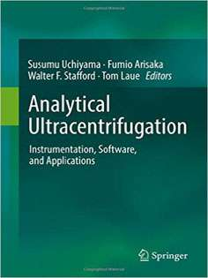 Analytical Ultracentrifugation: Instrumentation, Software, and Applications