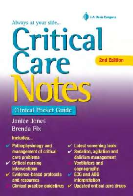 Critical Care Notes: Clinical Pocket Guide