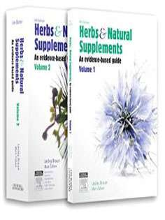 Herbs and Natural Supplements,2-Volume set:An Evidence-Based Guide