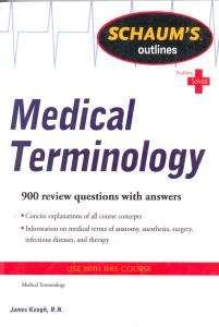 Medical Terminology Schaum
