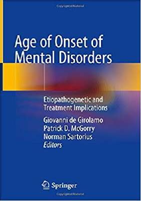 Age of Onset of Mental Disorders: Etiopathogenetic and Treatment Implications