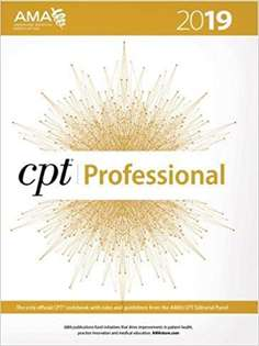CPT 2019 (CPT / Current Procedural Terminology